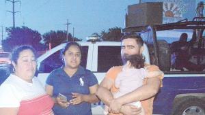 Protestan con bloqueo en carretera  a San Fernando