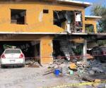 Explota vivienda por acumulación de gas en la Jacinto López ll