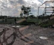 Muere indigente en campos de fútbol de la Ribereña