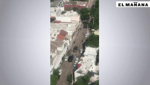Comando armado desata balacera en Culiacán
