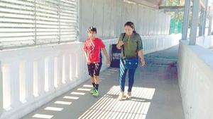 Sin migrantes puente Las Flores