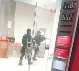 Frustran robo bancario