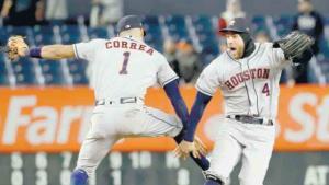¡Apagan Astros Yankee Stadium!
