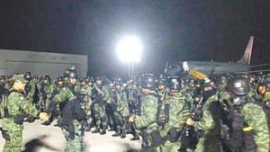 Arriban militares de élite a Culiacán