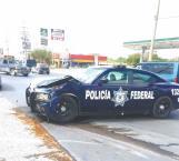 Choca patrulla de la Federal