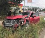 Brutal accidente en Río Bravo; 4 lesionados