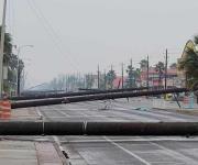 Damnificados piden ayuda por redes, tras el paso del Tornado