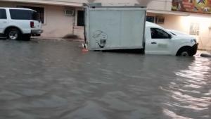 Caos en la zona sur de Tamaulipas por causa de la tormenta