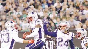 ¡Patriotas arrollan a los Jets!