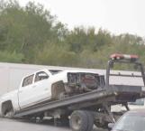 Localizan vehículo con blindaje artesanal