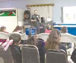 Imparte Policía Federal pláticas en escuela primaria