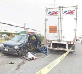 Conductora muere trágicamente