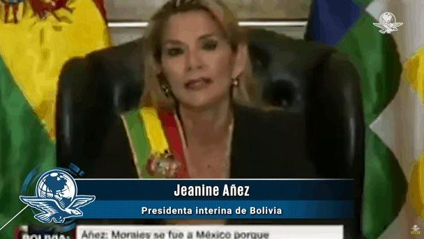 """""""Me da mucha pena los mexicanos"""" dice la presidenta proclamada de Bolivia"""
