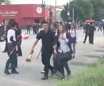Matan a maestra en pleno desfile