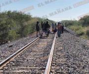 Muere hombre atropellado por el tren