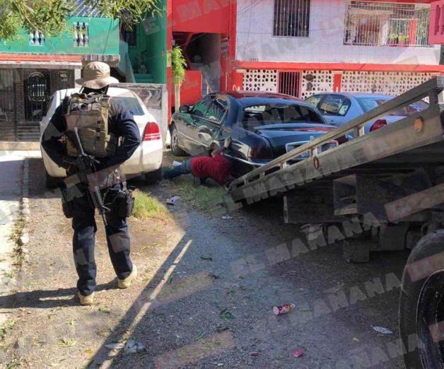 Enfrentamiento entre grupo armado y estatales en Reynosa