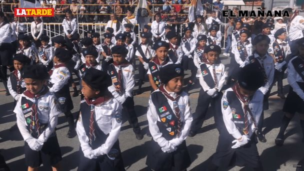 Desfile en Reynosa