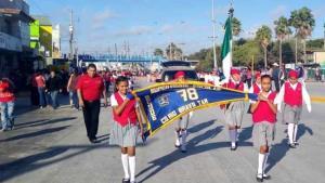 Desfilan en 109 aniversario de la Revolución Mexicana