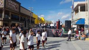 Se suma Progreso a tradicional festejo con desfile revolucionario