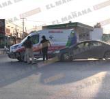 Choca ambulancia vs un Pontiac G6