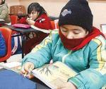 Se dará tolerancia de 30 minutos en escuela por temporada de frío