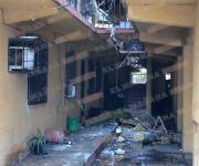 Explota tanque de gas en unos apartamentos; dos lesionados