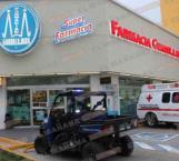 Hieren a un empleado en asalto violento a una farmacia de Madero