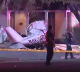 Avioneta aterriza en vecindario: 3 muertos
