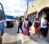 Capturan estatales a 21 migrantes en Miguel Alemán