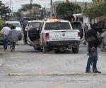 Sufren ataque a balazos agentes de la Policía Investigadora