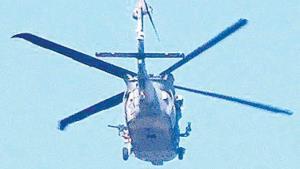 Regresan sobrevuelos de helicópteros artillados
