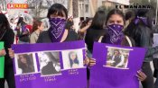 Manifestación feminista en Reynosa