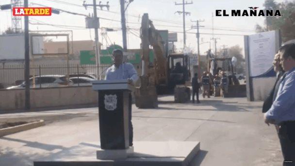 Arranca la pavimentación hidráulica de la calle Pascual Ortiz Rubio entre Miguel Alemán y Colón