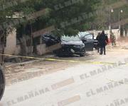 Persecución, balacera y auto robado asegurado