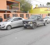 Pelean conductoras después de chocar