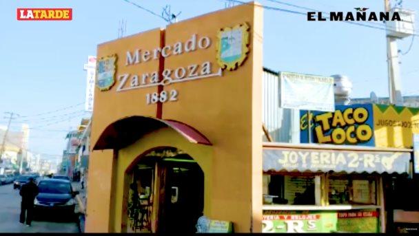 Luce desolado el mercado Zaragoza