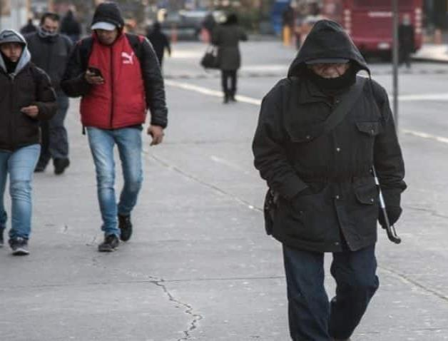 Pronostican hasta 4 grados centígrados con frente frío que entra el martes