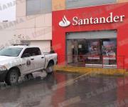 Frustran clientes secuestro exprés en sucursal bancaria de Reynosa