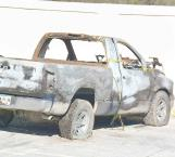Identifican a víctima de incendio en camioneta