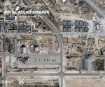 Cuatro heridos en ataque a base aérea iraquí que alberga soldados de EU