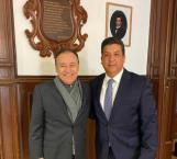 Gobernador de Tamaulipas se reúne con Gabinete de Seguridad en CDMX