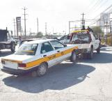 Decomisan taxis piratas