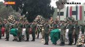 Homenaje póstumo a militares fallecidos en el cumplimiento de su deber