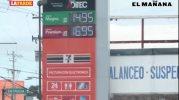 Tratan de mantener precio de gasolina