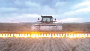 Tractores lanzallamas