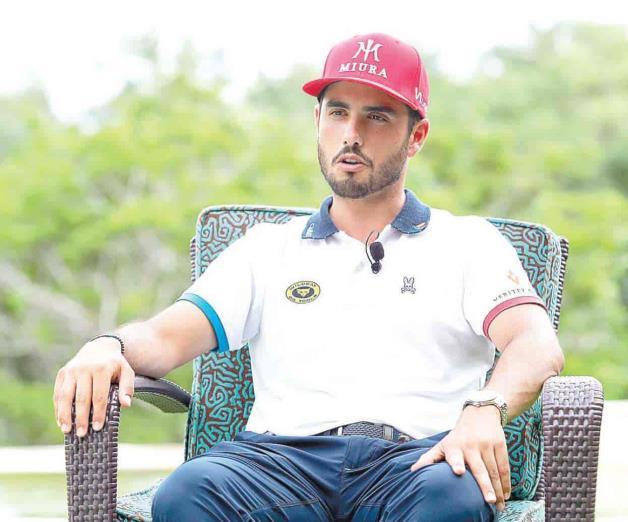 Emocionado Abraham por  jugar en la  WGC-México
