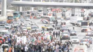 Desmilitarizar a México piden en marcha de paz