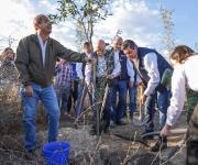 Reforestan Parque Estatal 'El Refugio', de Victoria