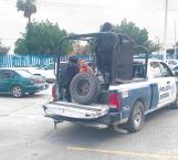 Abandona a su mujer en vehículo robado