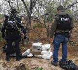 Incautan 30 kilos de marihuana en operativo policiaco conjunto